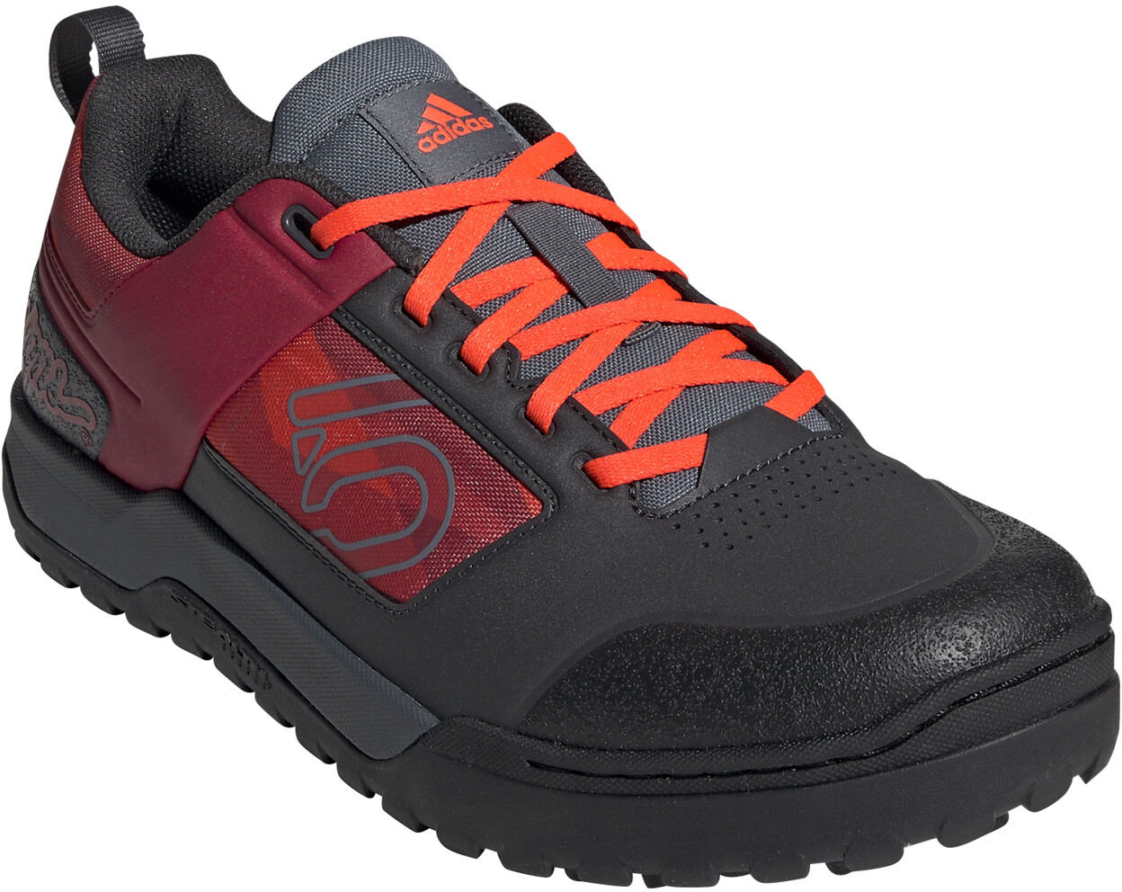 adidas Five Ten Impact Pro TLD Chaussures Homme, carbonstrong redsolar red